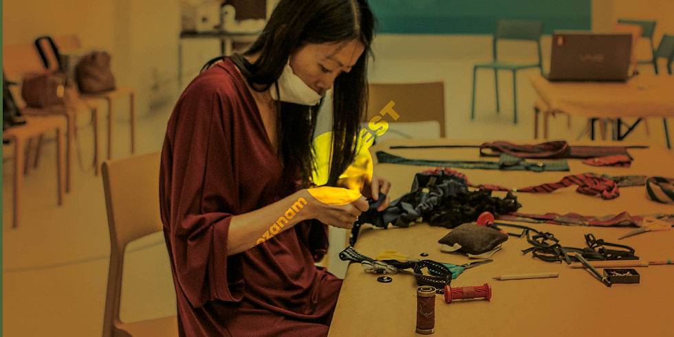 Workshop di upcycling sartoriale // Doubless21