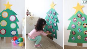 Hazlo tú mism@: árboles navideños para niños de 1 a 3 años aprox.
