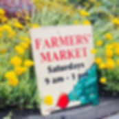 It's Market Day today! 9-1pm Eat FRESH.