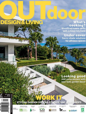Kihara Landscapes Japanese garden featured in Outdoor Living Iss 34
