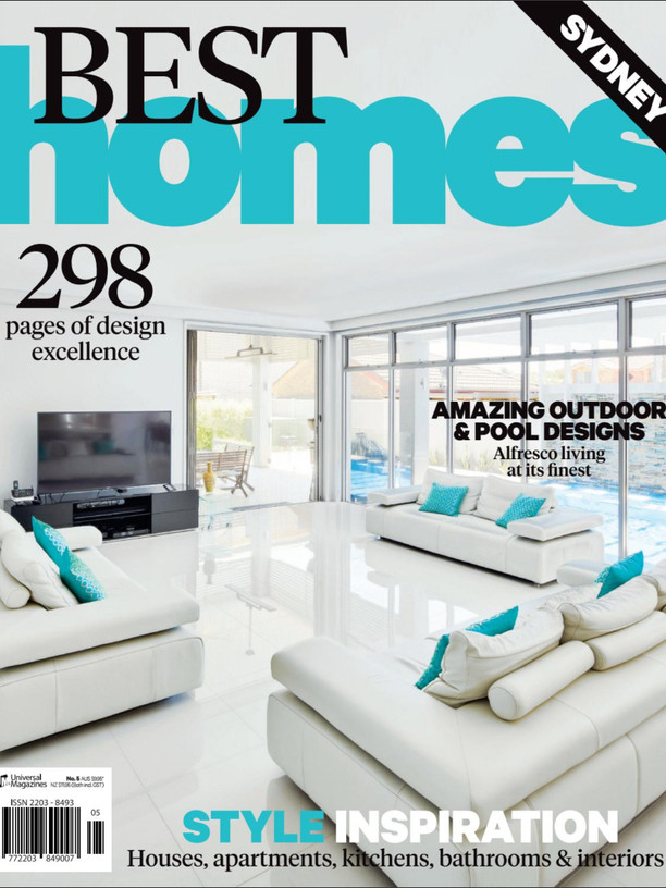 Kihara Landscapes Japanese garden featured in Best Homes Edition No.5