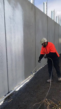 Melbourne Freeway - commercial painting