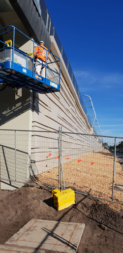 Commercial Painting - Rail Project