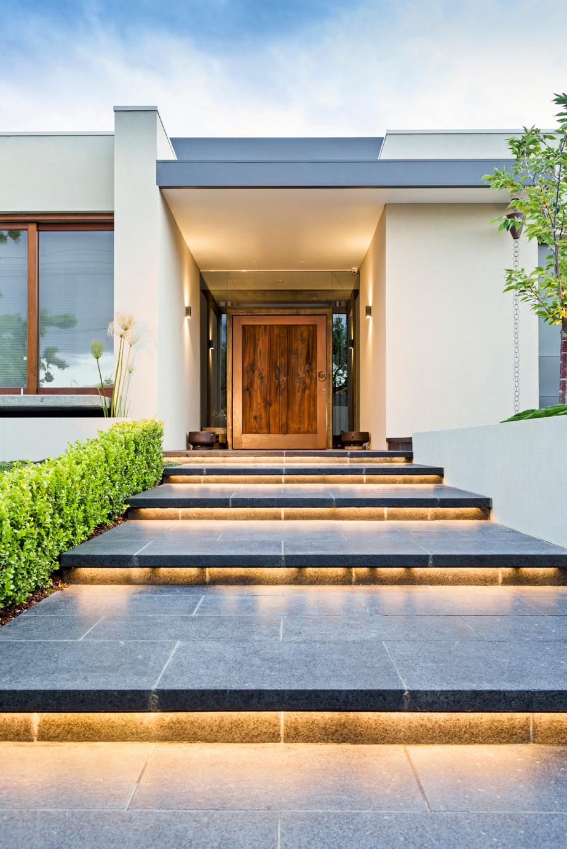 Japanese garden contemporary home - Malvern