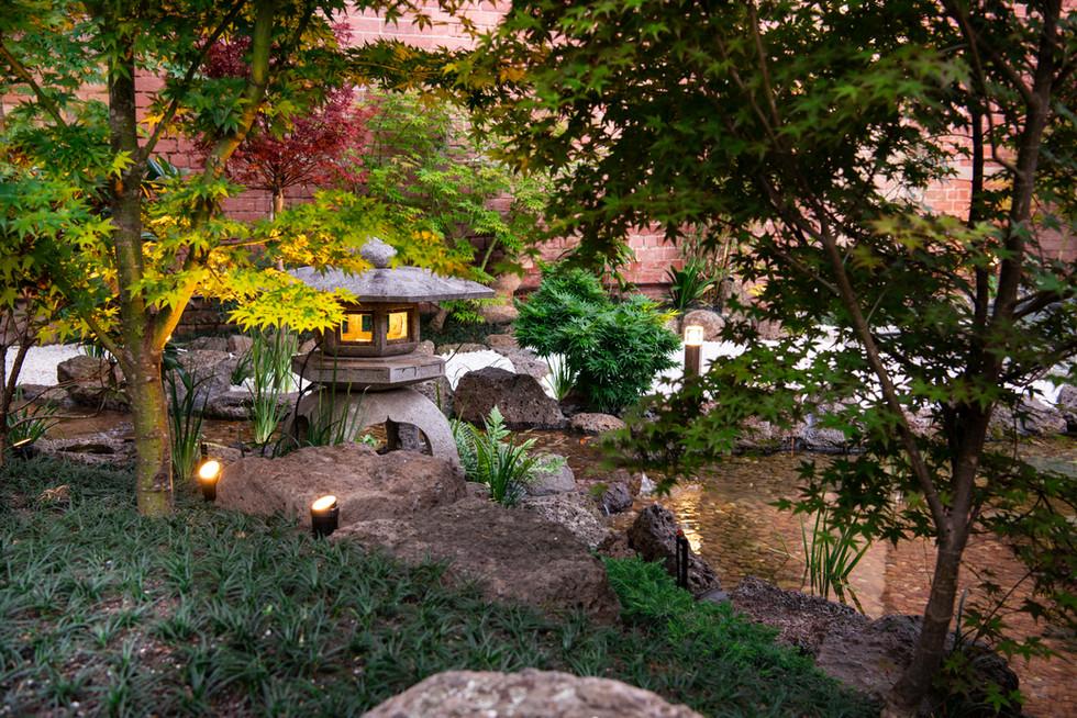 Expansive inner city Japanese garden - West Melbourne