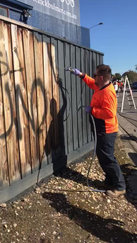 Graffi Removal and painting