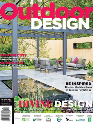 Kihara Landscapes Japanese garden featured in Outdoor Design Iss 38