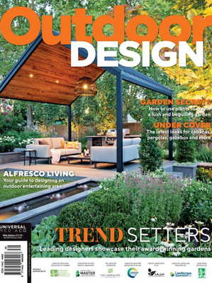 Kihara Landscapes Japanese garden featured in Outdoor Living Iss 39