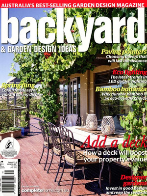 Kihara Landscapes Japanese garden featured in Backyard Edition 11.4