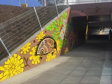 Chandler Highway Mural