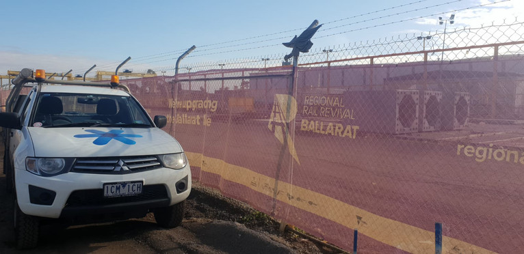 On site - Regional Rail Revival Project