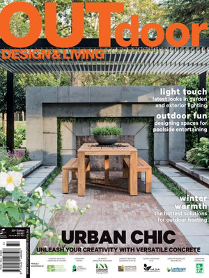 Kihara Landscapes Japanese garden featured in Outdoor Living Iss 33