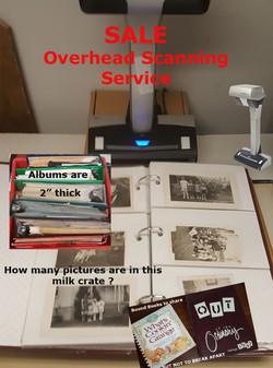 Overhead Scanning