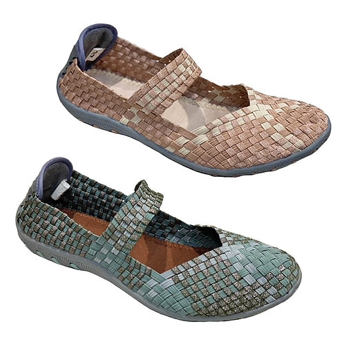Ketupat Elastic Weaving Shoe