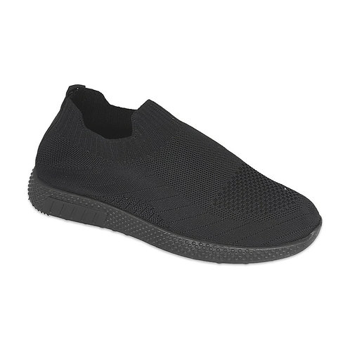 Super Comfort Sneakers Black Working Shoe