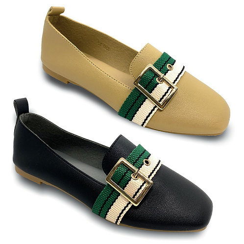 Buckle Belt Super Soft Flats