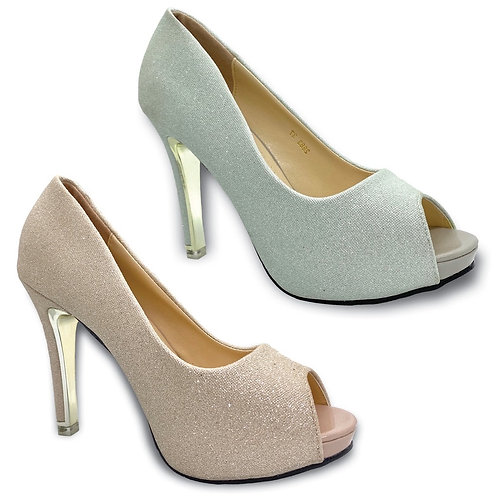 High Heels Opened Toes Dinner Party Shoe