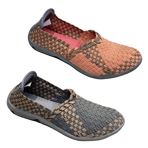 Ketupat Elastic Weaving Shoe
