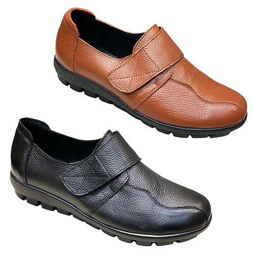 Skin calf leather working shoe