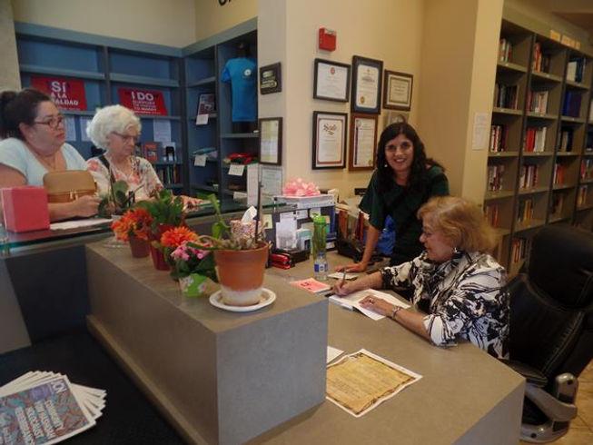 Ruth Lindemann Book Signing