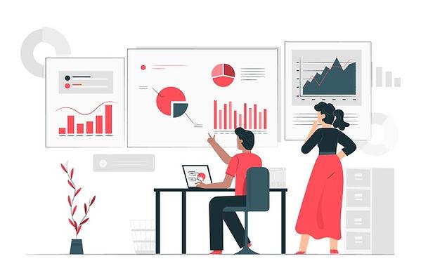 data-inform-illustration-concept_114360-