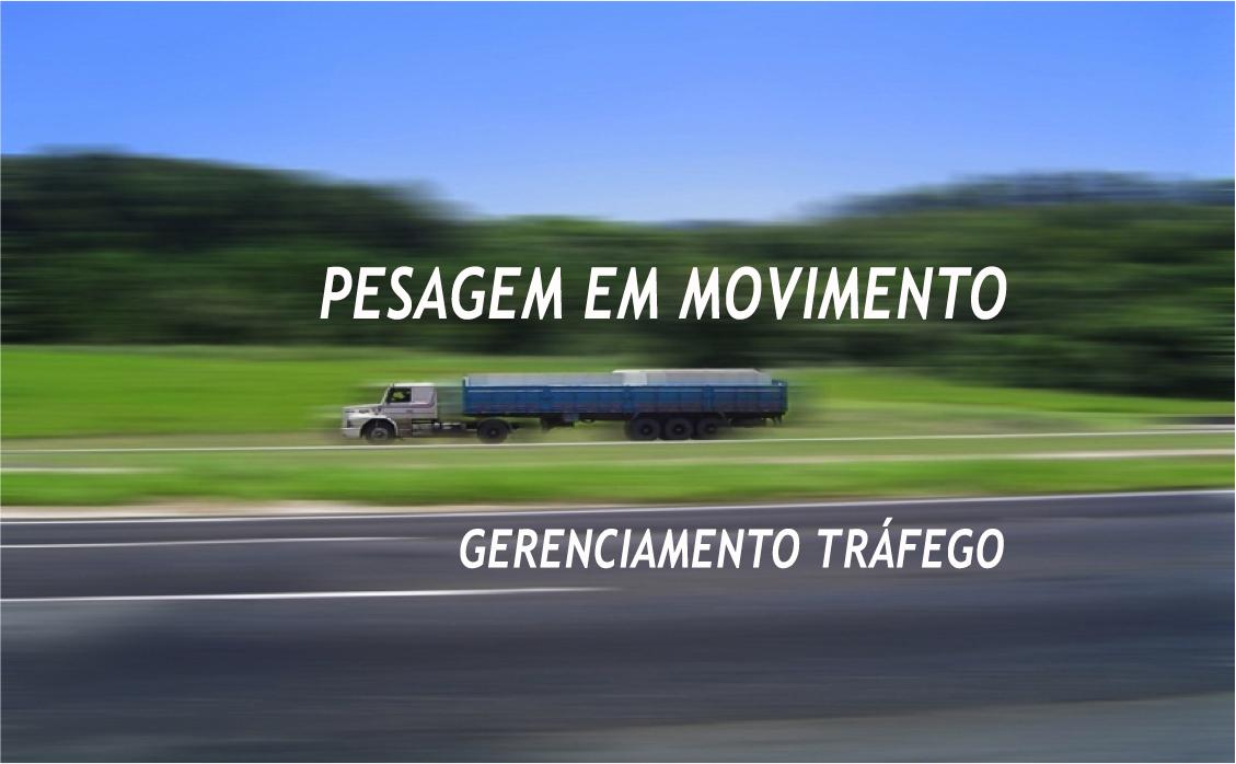WIM Truck in Motion