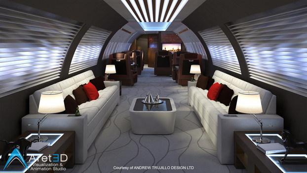 Interior jet