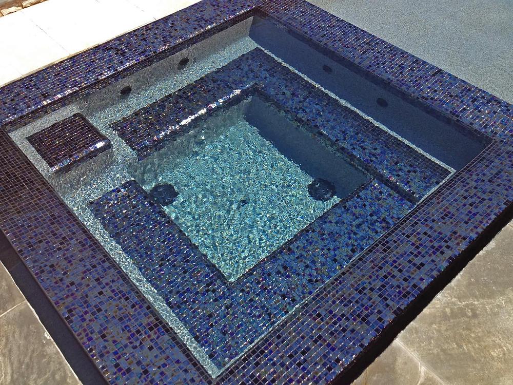 Jacuzzi con Mosaico Veneciano