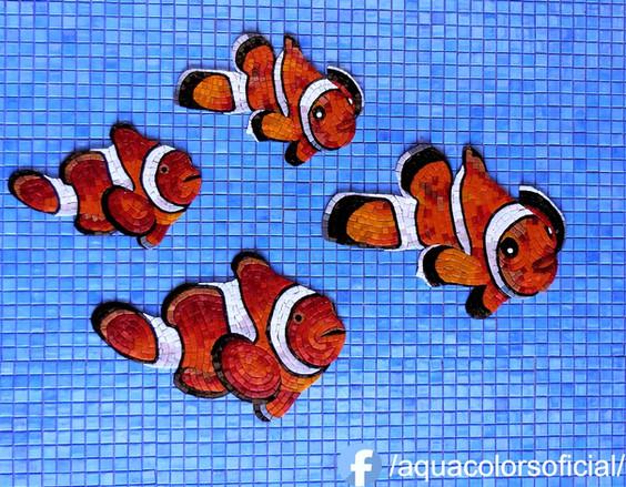 Grupo de peces nemo de 30  de ,39cm,39cm,42cm