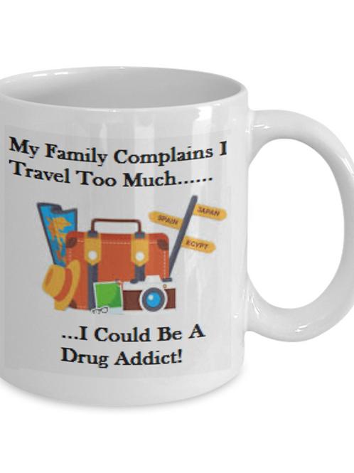 DRUG ADDICT - Coffee Mug