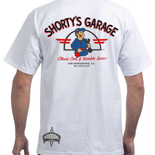 (PLUS SIZE) Shorty's Garage (Mechanic) Tee