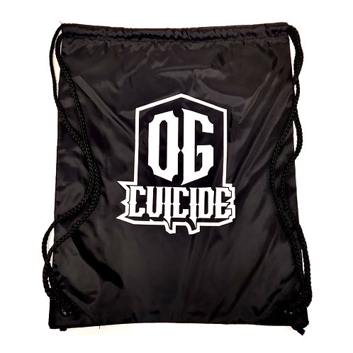 OG Cuicide Drawstring Backpack