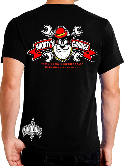 Shorty's Garage (Petey's Wrench) Tee