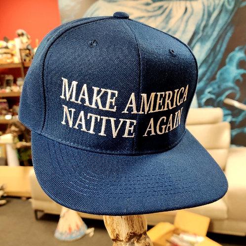 Make America Native Again (Navy) Snapback Hat