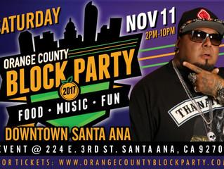 Orange County Block Party 2017