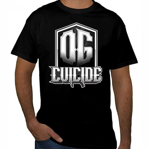 (PLUS SIZE) OG Cuicide X Voodoo Nation LLC. Collab Tee