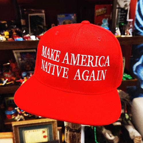 Make America Native Again (Red) Snapback Hat