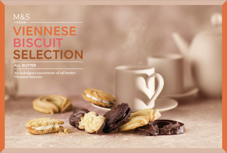 M&S | biscuit assortment packaging