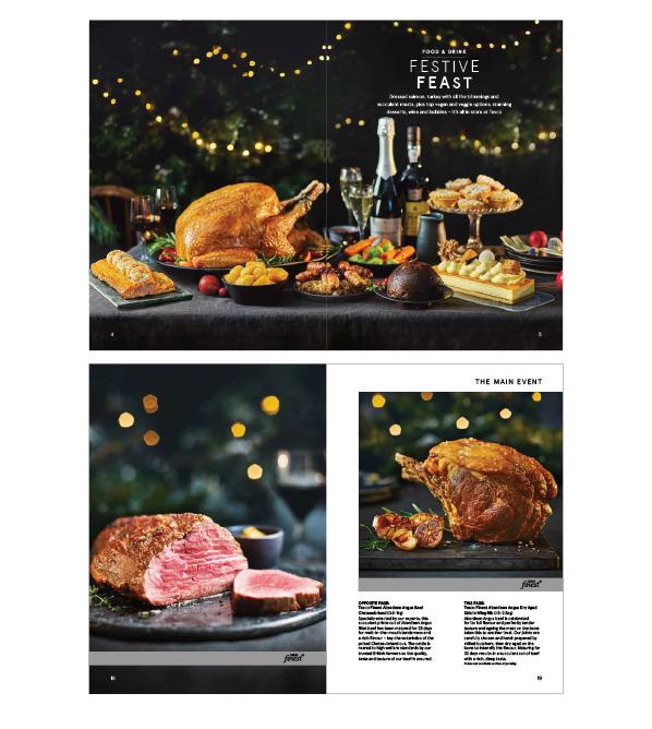 CEDAR FOR TESCO   Christmas press pack
