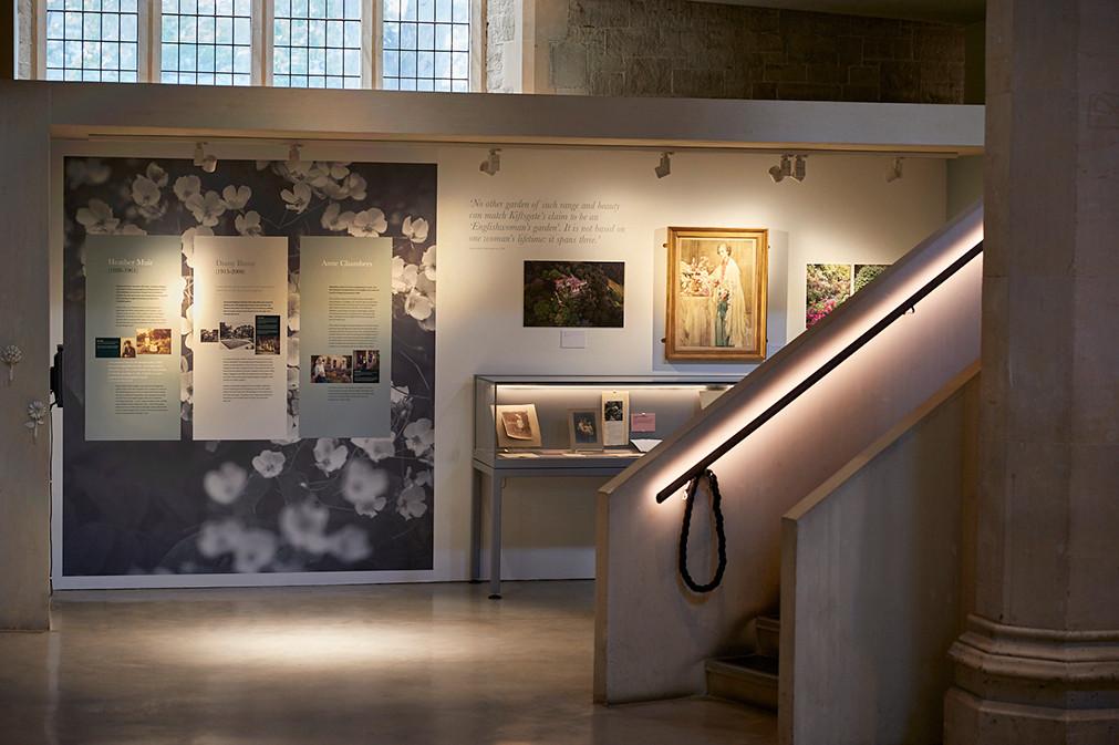 GARDEN MUSEUM | Kiftsgate Court exhibition design