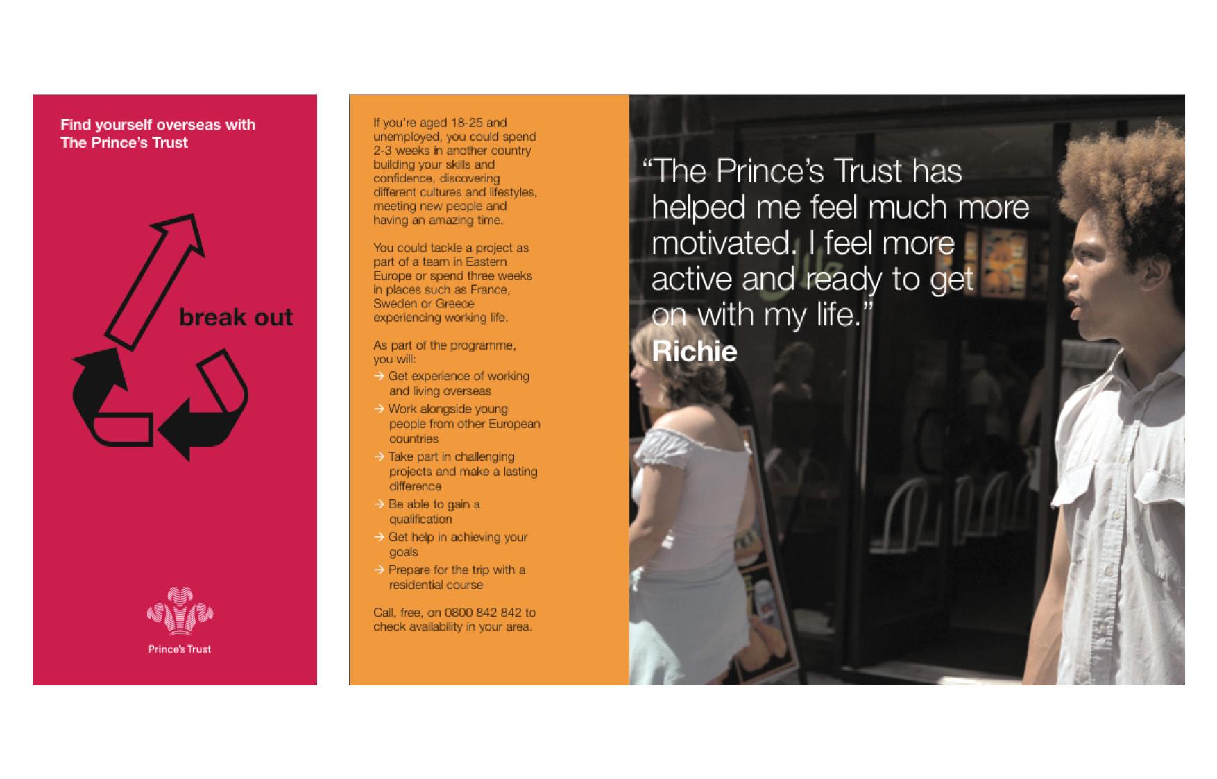 PRINCE'S TRUST | Leaflet series