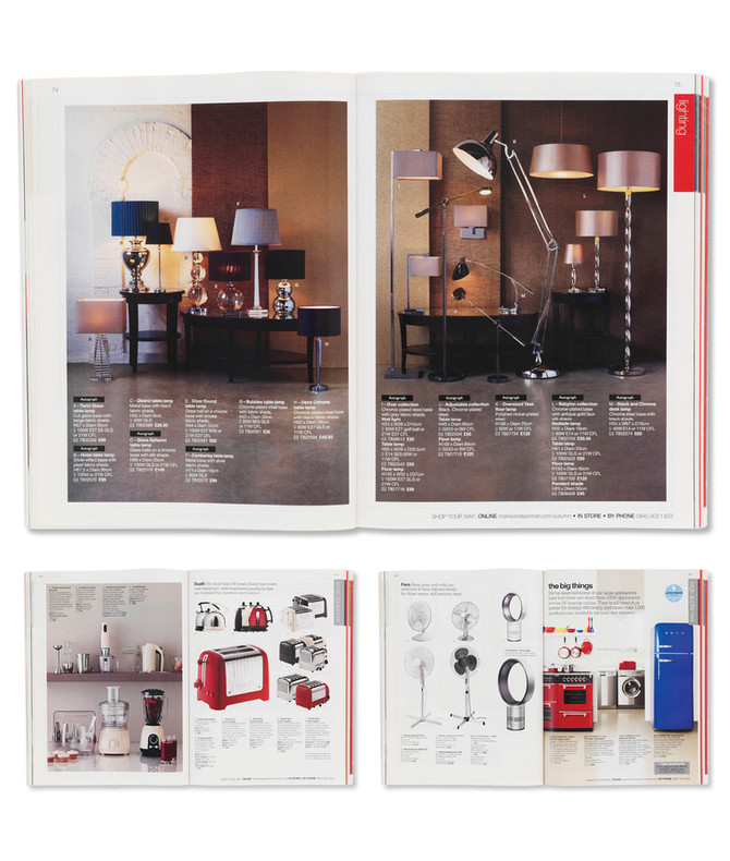 M&S   Home catalogue