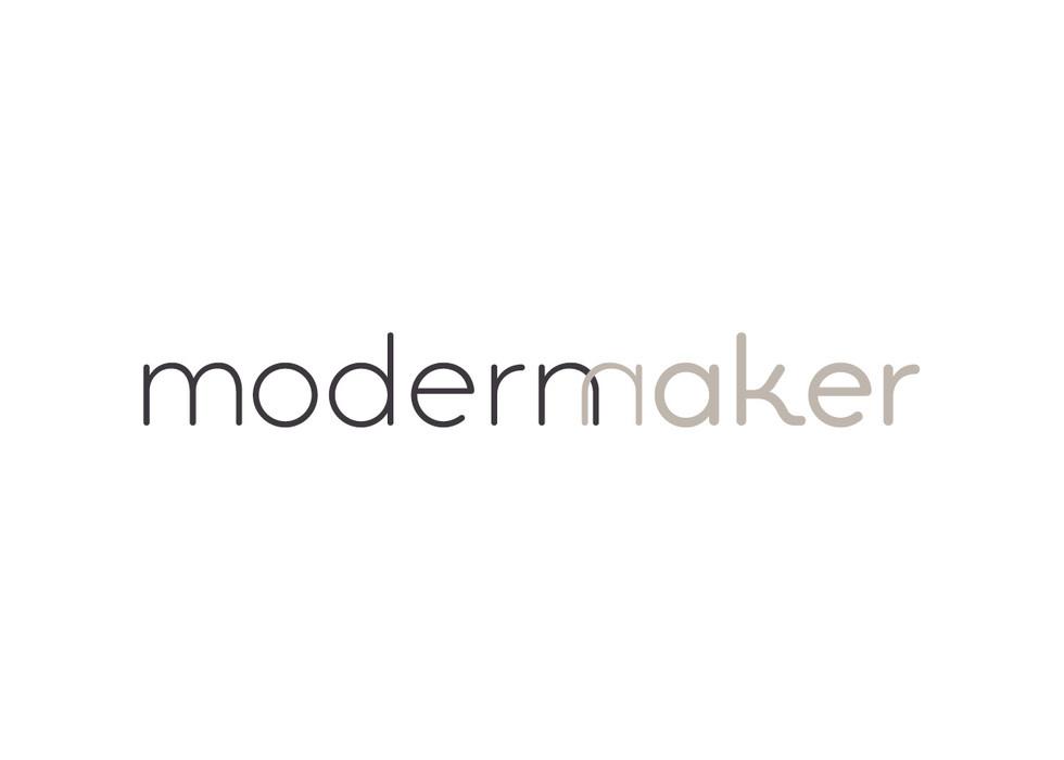 MODERN MAKER | logo for textile designer & maker