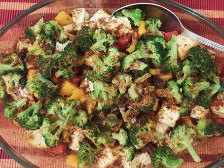 Peppered Broccoli Paneer Roast