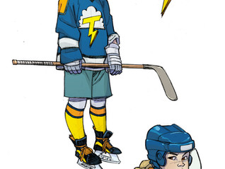 Get Into The Olympic Spirit With KICKING ICE, A Graphic Novel About Women's Hockey