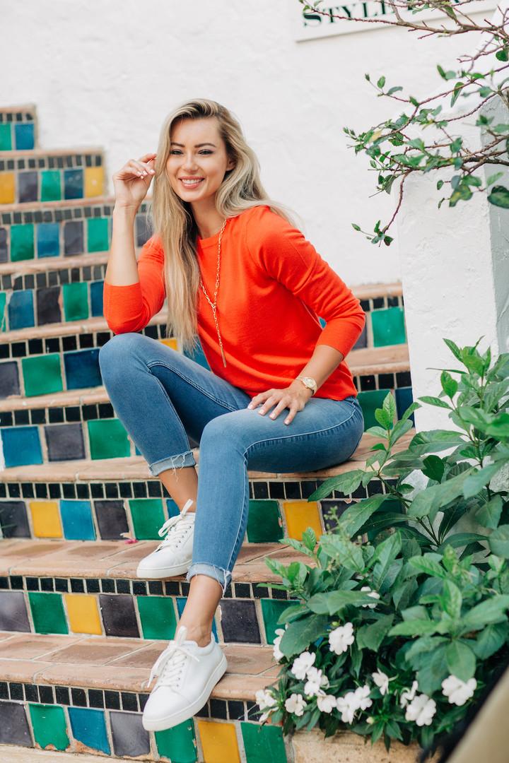 In house model Alina