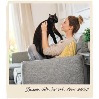 Hannah with her cat. Nov2020.jpg