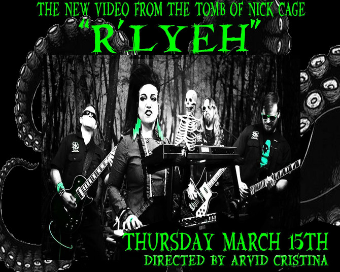 R'lyeh music video drops tomorrow night.