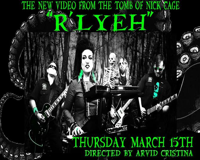 R'lyeh music video drops tomorrow night.