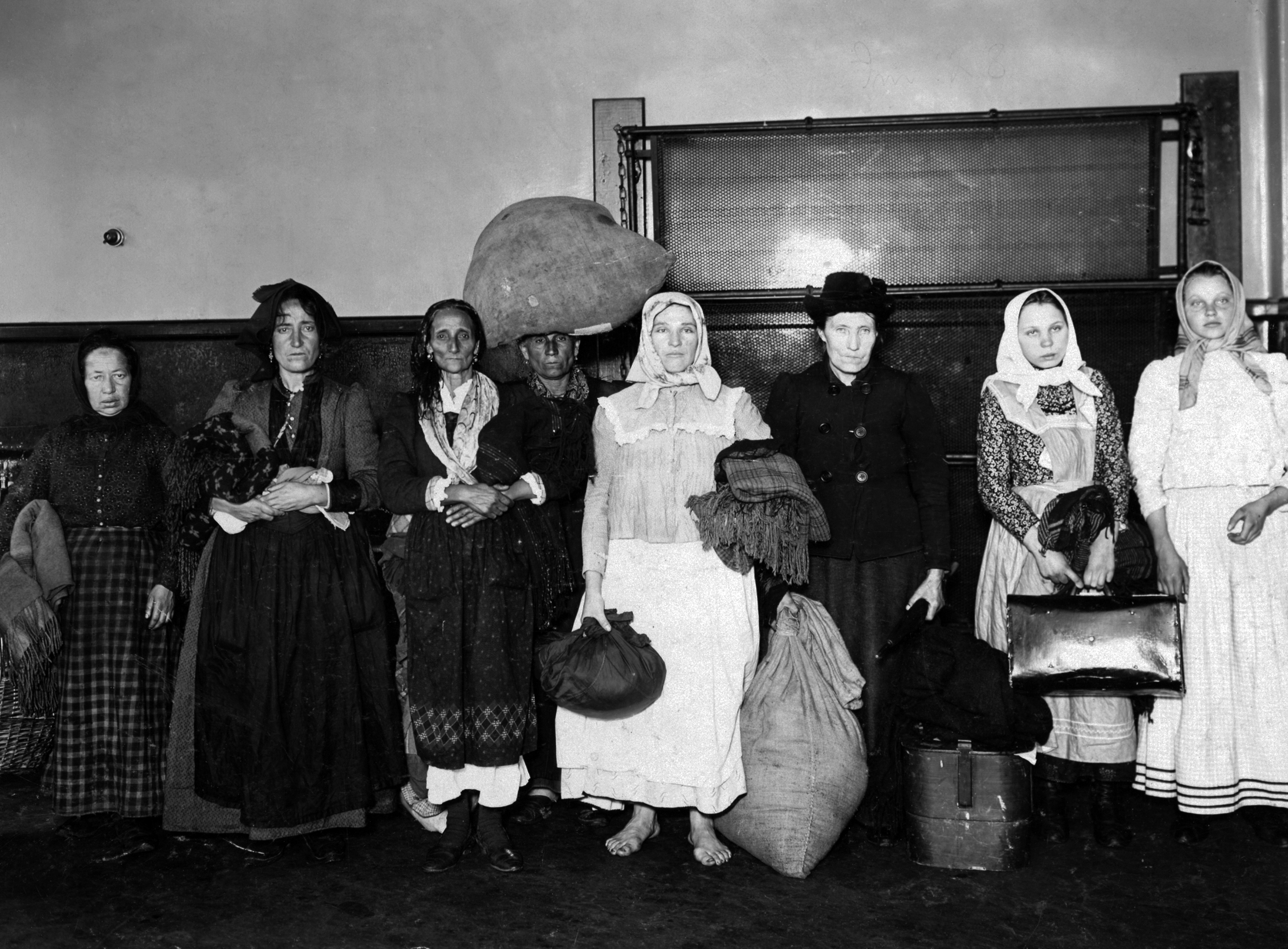 Ellis Island- The Making of the Master Race